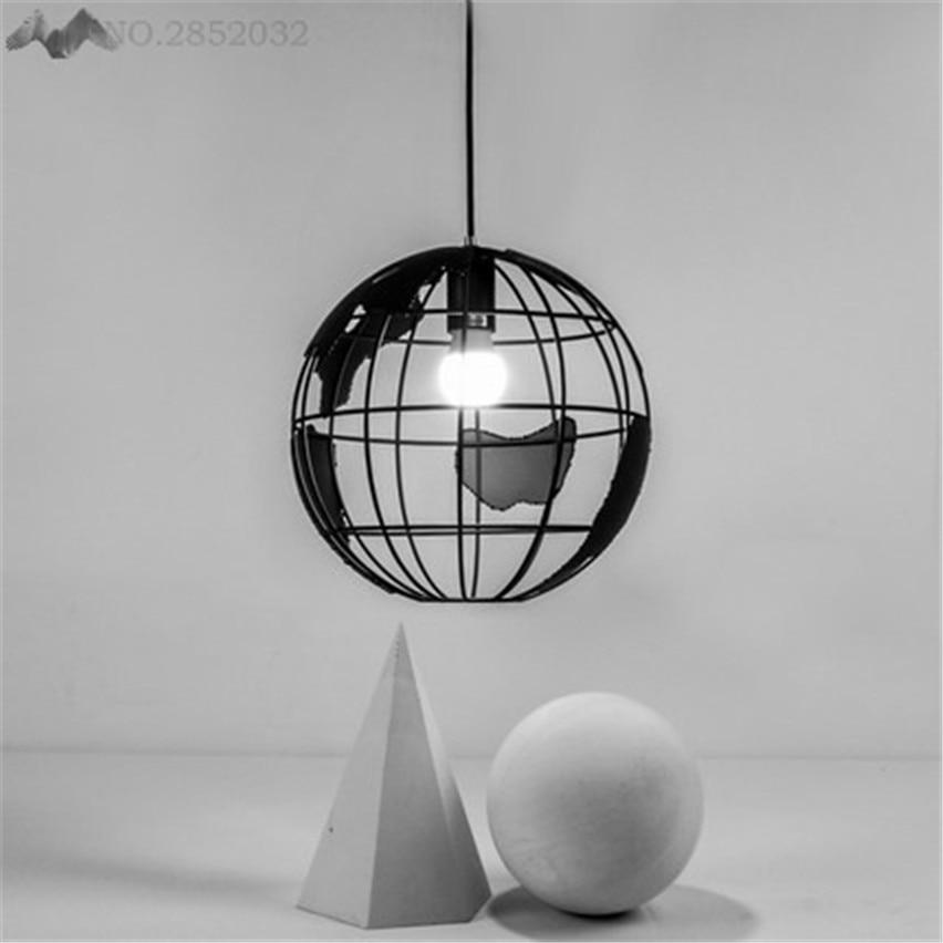 JW_ Pendant Lamp Nordic Modern Simple Earth Single Head