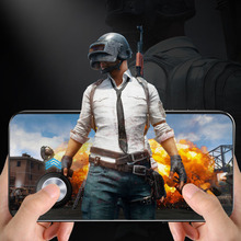 1pcs Round Game Joystick For Mobile Phone Rocker Tablet Android Iphone Metal Button Controller for PUBG