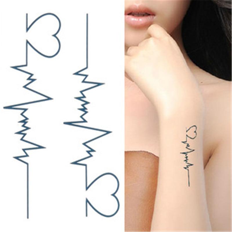 El Nuevo Tatuaje Temporal De Henna Negro Tattoo Flash Tatuaje