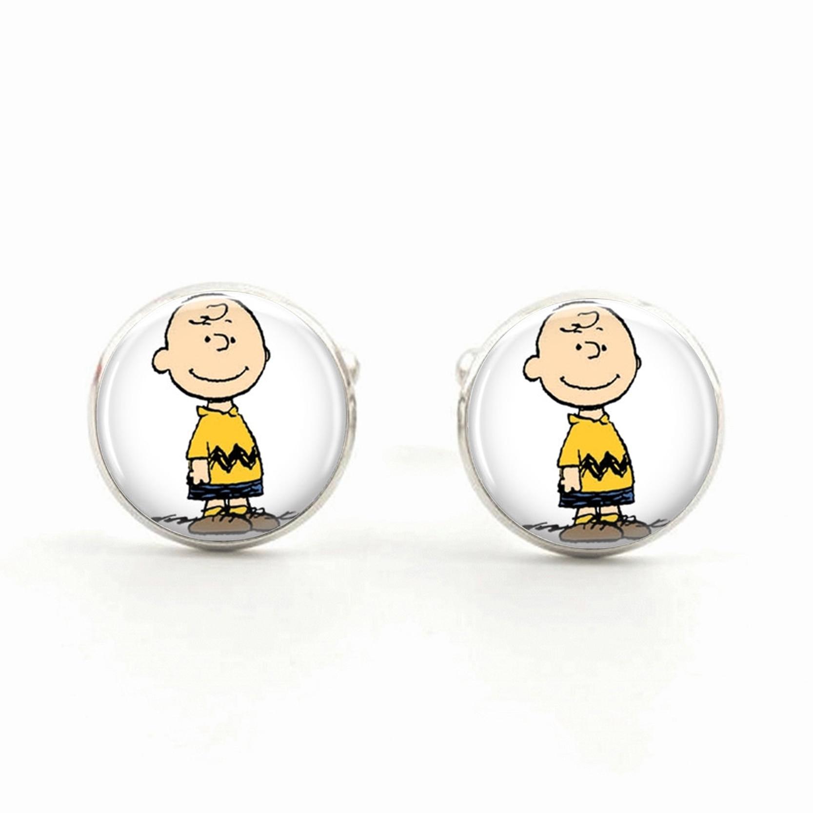 Charlie Brown gemelos los cacahuetes joyería dibujos animados ...