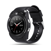New Sport Touch Relogio Infantile font b Smartwatch b font V8 Camera Bluetooth Wrist Watch Reloj
