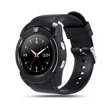 Neue Sport Relogio Infantile Smartwatch V8 Kamera Bluetooth Armbanduhr Reloj Inteligentes Schlaf Tracker Für Android IOS