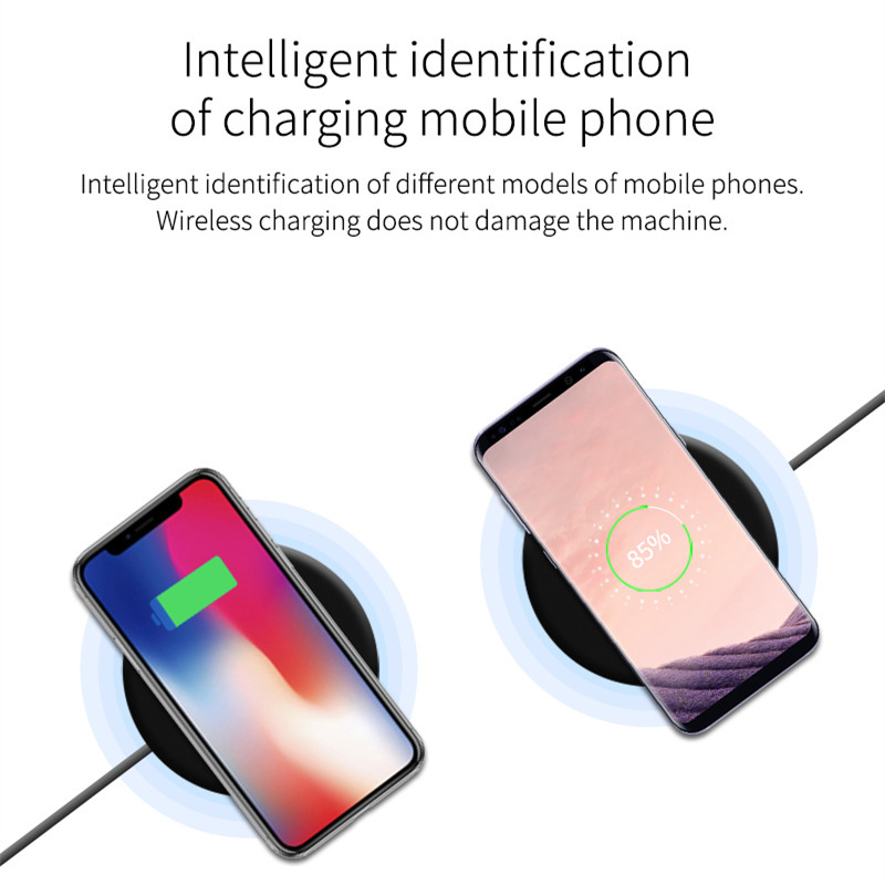 Big Discount #445a Foldable QI Wireless Charger Smart 8