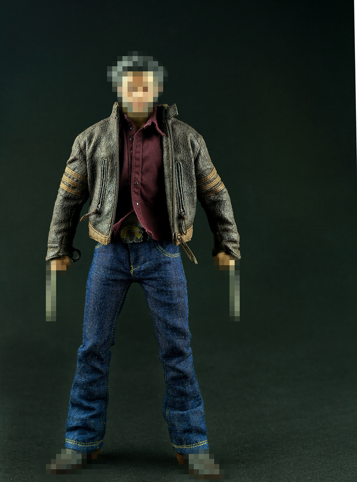 ФОТО 1:6 scale doll apparel 12inch Wolverine Hugh Jackman Clothing sets Suitable for HT
