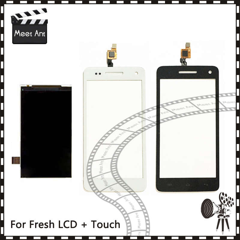 New High Quality For Explay Fresh Lcd Display With Touch Screen Digitizer Sensor + Tracking Code