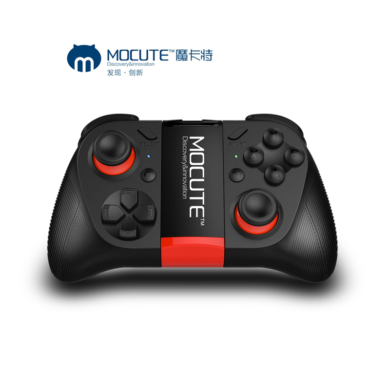 MOCUTE 050 Construir em bateria GamePad Joystick Controle Remoto Controlador do Bluetooth Gamepad para PUGB mobile PC iso Android iphone