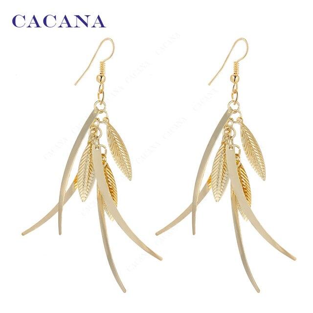 CACANA Dangle Long Earrings For Women Top Quality Fashion Bijouterie Hot Sale No