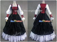 Renaissance Pirate Wench Dress Ball Gown H008