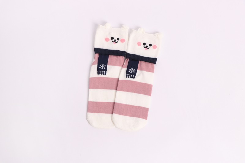 HTB1SFvtKxWYBuNjy1zkq6xGGpXaX - New Design Animal Patterned Short Socks Women shiba inu Cartoon Ankle Socks Female Fashion Funny Socks Cotton Hosiery Christmas