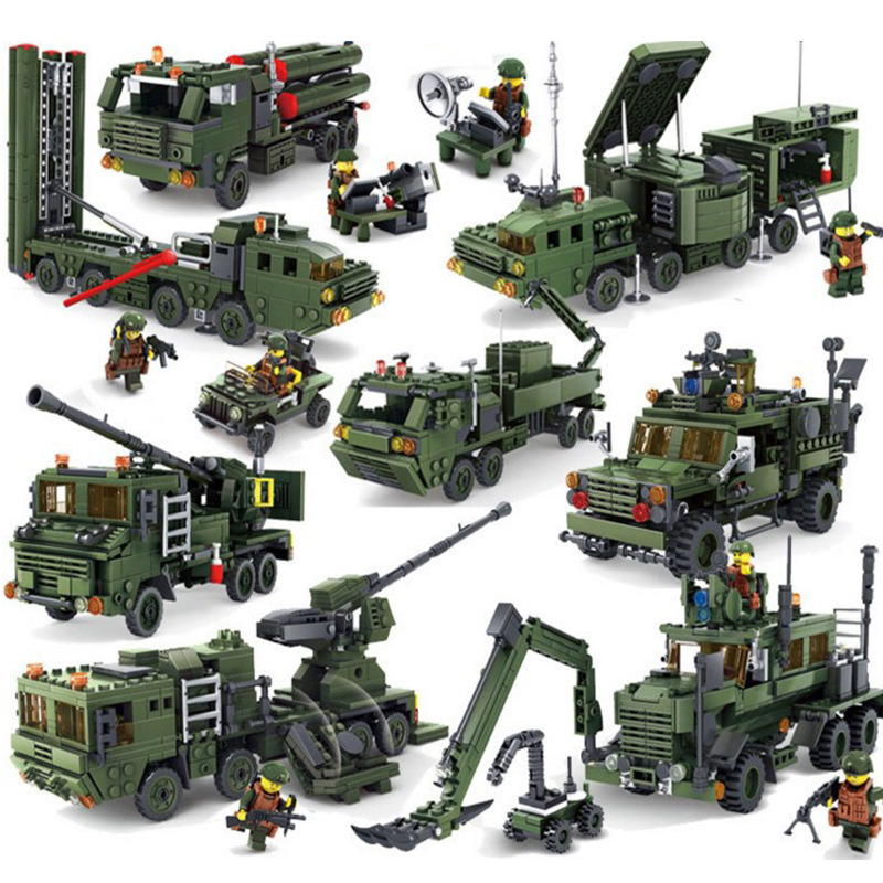 LegoINGs Military Weapon Gun War Building Blocks Soldiers Sets Field Army Vehicle Bricks Playmobil Educational Toys for Children [yamala]military firewire blocks soldier war weapon bricks building blocks sets classic airman toys for children diy heavy gun
