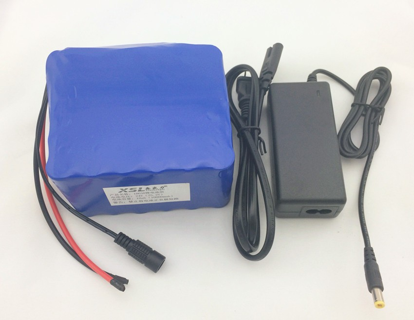 Batterie au lithium 24V-10A 6S5P 18650 composition 24 V 10000 mah cyclomoteur électrique/vélo électrique/batterie lithium-ion