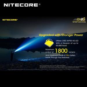 Image 3 - Wysokowydajna latarka Nitecore EC4GTS CREE XHP35 HD LED 1800 lumenów
