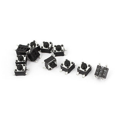 10pcs SMD SMT Surface Mount Momentary Tactile Push Button Switch 4.5x4.5x3.8mm