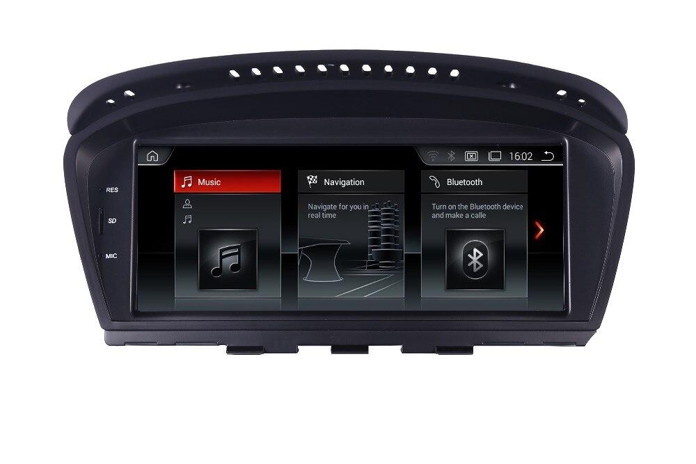 8.8 Android 7.1 Écran lecteur multimédia de Voiture Pour BMW Série 5 E60 E61 E62 gps navigation radio Stéréo Bluetooth volant
