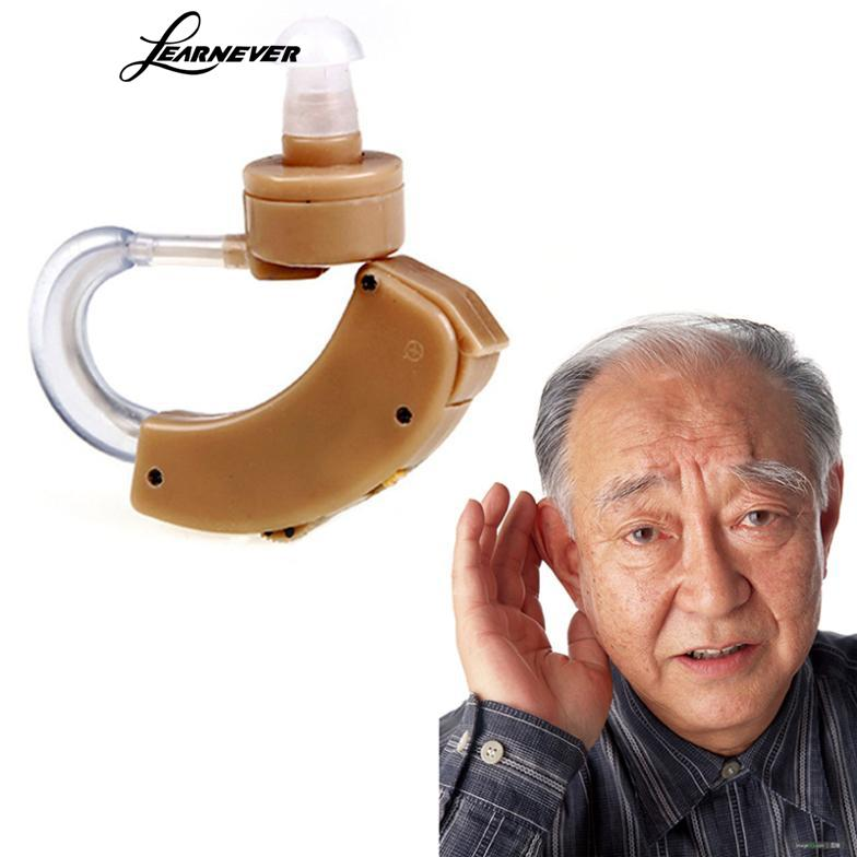 1 Pc Hearing Amplifier Terbaik Digital Tone Hearing Aids Aid Di Belakang Telinga Suara Amplifier AdjustableTone Digital Hearing # LY069