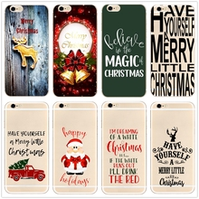 Have Yourself A Merry Little Christmas phone case cover for Samsung s8 s9plus S6 S7e for iPhone 7 6s 8plus 5s 5c X XS XR XSMAX