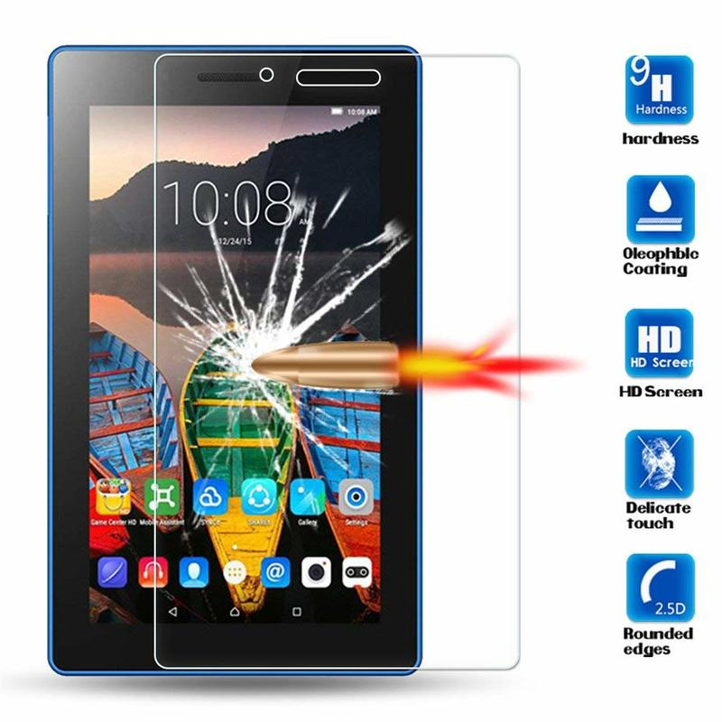 Screen Tempered Glass Protector For Lenovo Tab 3 7 Essential TB3-710F 710i 730 TB3-730F 730M Tab3 Plus 7 7703 7703X Tablet Glass
