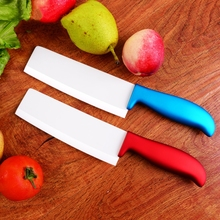 2016 new 6 inch ceramic kitchen knife slicing knife carving knife handle metal paint