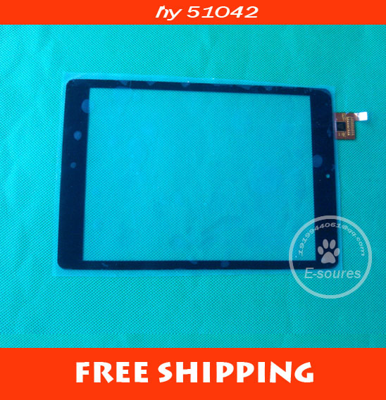 Free shipping 7.85 inch touch screen,100% New for CHUWI V88 / V88S MINI Tablet pc touch pad .touch panel digitizer HY 51042 new 7 inch touch screen digitizer for for acer iconia tab a110 tablet pc free shipping