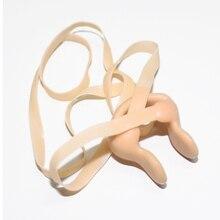 6 шт. аксессуары для спортивной одежды водные виды спорта нос/клипсы для ушей зажим для носа силиконовый гель для плавания носовая вставка с эластичной струной