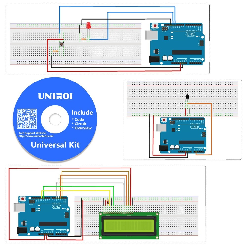 Arduino Uno Projects With Code