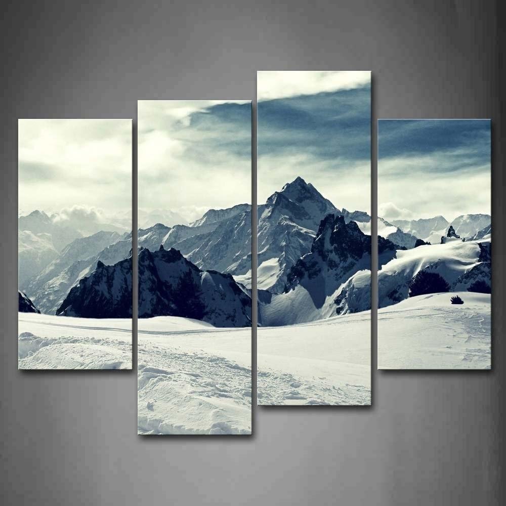 montagne paysage peinture achetez des lots petit prix montagne paysage peinture en provenance. Black Bedroom Furniture Sets. Home Design Ideas