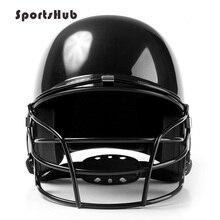 Профессиональный бейсбольный шлем, используемый для ушей, маска для лица, защита для взрослых и детей, черный, красный, синий цвет на выбор CS0020