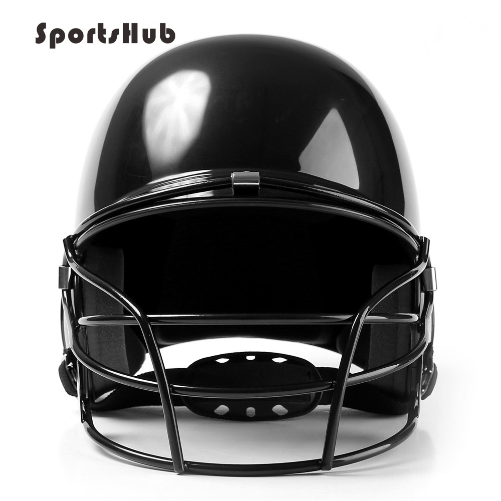 Professional Baseball Helmet Used For Ear Head Face Mask Protection For Adult And Child Black Red Blue Color Choose CS0020