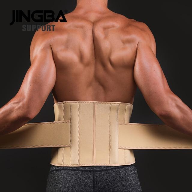JINGBA SUPPORT fitness Back belt waist support sweat belt waist trainer trimmer musculation abdominale Sports Safety factory 2
