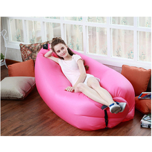 Folding Air Bag Sofa Portable Inflatable Sofa Lazy Outdoor Beach Easy Use Fashion Swim Sofa Bed Toy Gift Camping Supply