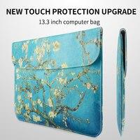 RBP dla Apple laptop torba kobiet do Ipada skórzane etui dla macbook air13.3 calowy Laptop torba pro 13 cal liniowej torba notebooka torby