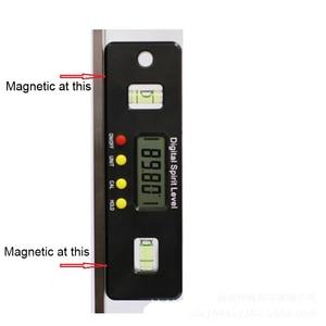 Image 5 - Digitale Gradenboog Hoekzoeker Inclinometer Elektronische Level 360 Graden Met/Zonder Magneten Niveau Hoek Helling Test Liniaal 400 Mm