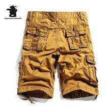 2017 sommer männer Insgesamt Shorts Mode 100% Baumwolle Hohe Qualität multi-steckte Plus Größe Beiläufige Kurzschlüsse der Männer 4 farben C10E3233