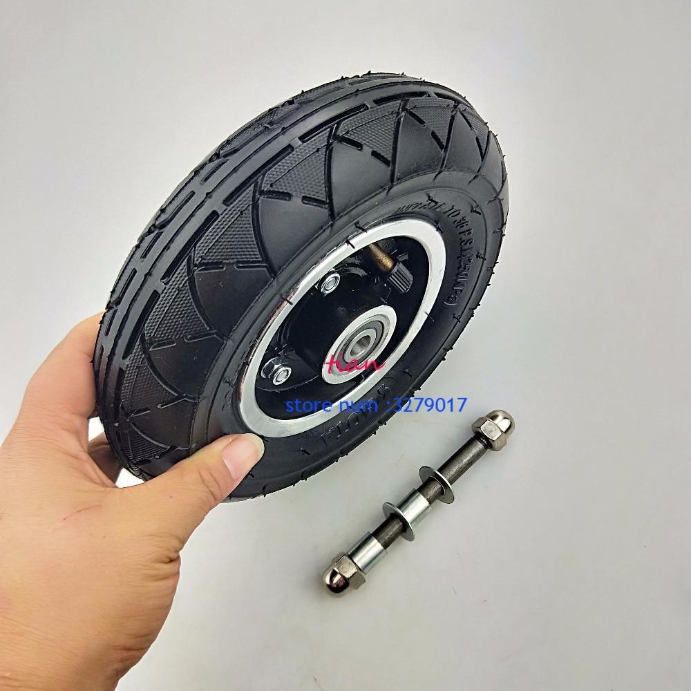 """200x50 Elektrische Roller Reifen Mit Rad ACHSE Hub 8 """"Roller Reifen Aluminium Legierung Rad Pneumatische Reifen Inflation elektrische Fahrzeug"""
