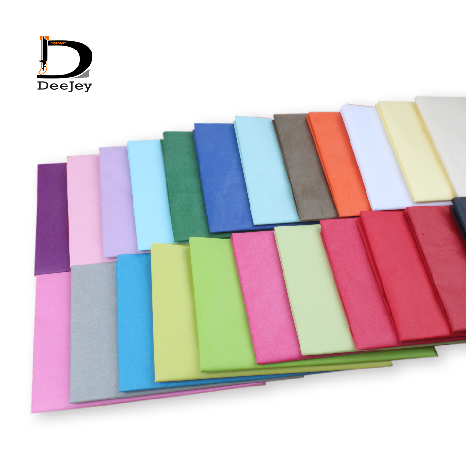 tissue paper wedding gift clothing wrap paper copy tissue paper diy material candy colors 5066cm 20pcs lot