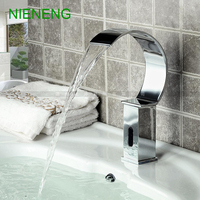 NIENENG sensor faucet bathroom sink mixer cold water automatic restaurant mixers basin faucets hospital appliance taps ICD60230