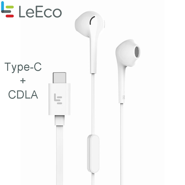 LEECO LETV Original TYPE C HIFI CDLA écouteurs