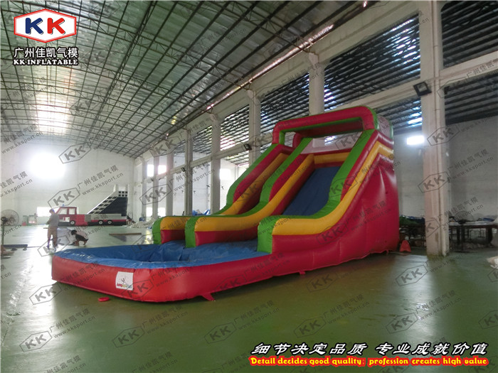 Inflatable Water Slide With Pool For Inflatable Water GamesInflatable Water Slide With Pool For Inflatable Water Games