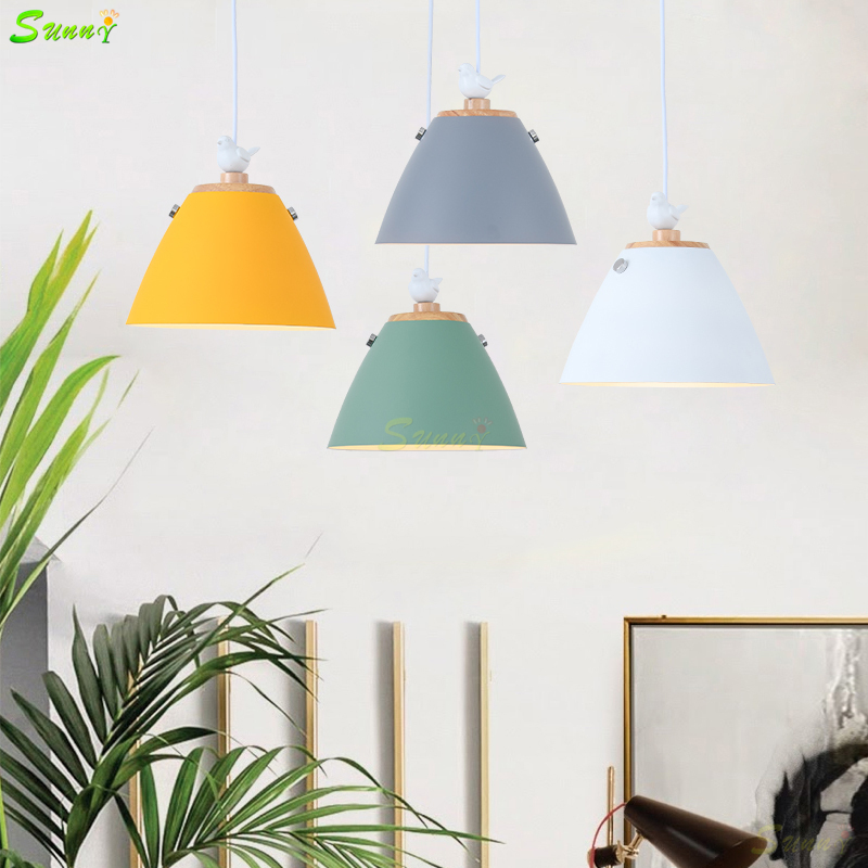 Nordic Style Dining Room Lights Modern Simple Creative Pendant Lights Fashion Personality Home Decor Makaron Restaurant HanglampNordic Style Dining Room Lights Modern Simple Creative Pendant Lights Fashion Personality Home Decor Makaron Restaurant Hanglamp