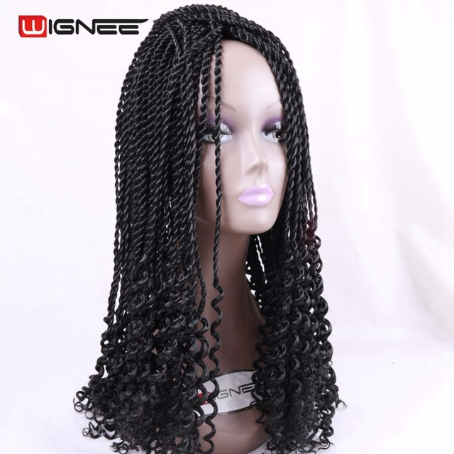 Wignee Curly Senegalese Twist Braids Hair Extensions For Black Women