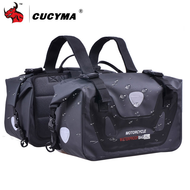 Cucyma Motorcycle Bag Tank Bags Waterproof Motorbike Saddle Long Distance Travel