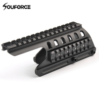 High Quality Tactical 20mm Double Picatinny Rail Mount 160 mm Length System Fit For Remington 870 RM870 Shot gun 12 GA Scope