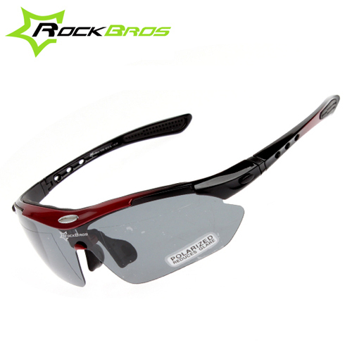 2ef3eb9a34 RockBros Polarized Cycling Sun Glasses Outdoor Sports Bicycle Glasses Bike  Sunglasses TR90 Goggles Eyewear 5 Lens