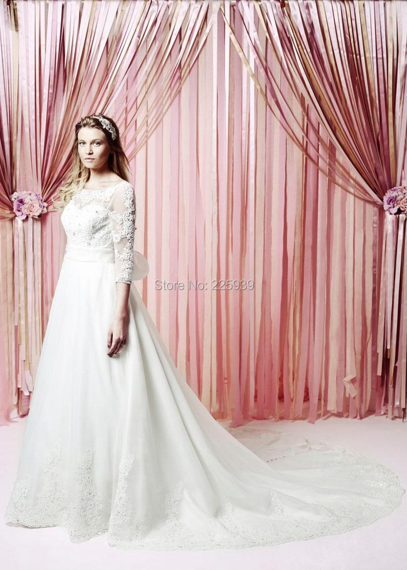 Increíble Tamaño De Vestido De Novia 24 Cresta - Colección de ...