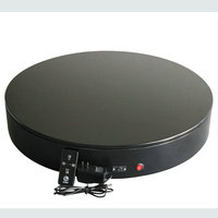 3 Speed Change Remote And Manual Control 60 90 120 Secs Circle 60X10CM Electric Turntable Display