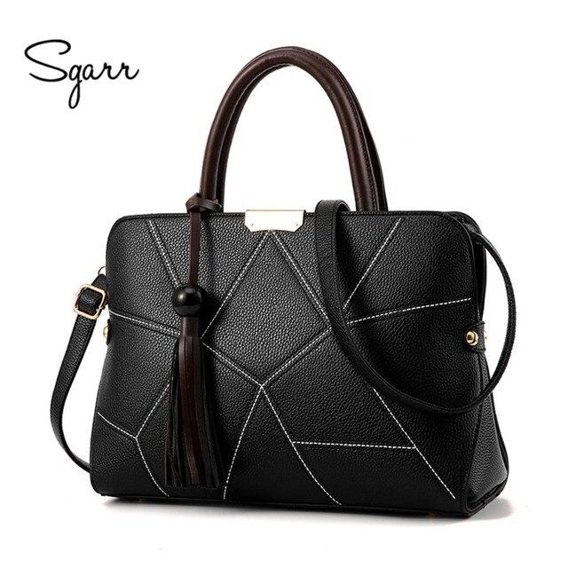 SGARR Brand PU Leather Women Handbag Fashion Designer Women Bag Luxury Ladies Shoulder Crossbody Bags Large Women Messenger Bags