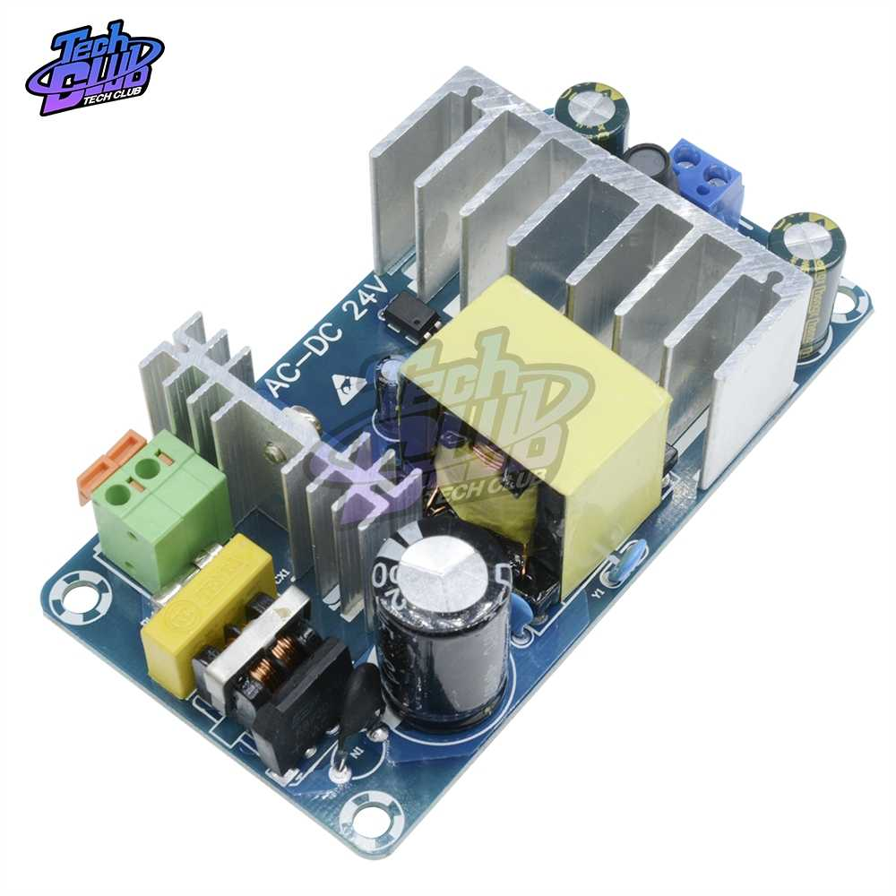 100W 4A 6A Stabil Tinggi Power Switching Power Supply Papan AC 110V 220V untuk DC 24V power Transformer Step Down Voltage Regulator