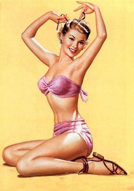Bikini pin up girls