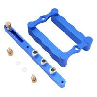 1 Set Self Centering Doweling Jig Wood Drill Hole Kit Aluminum Alloy Woodworking Driling Locator 6