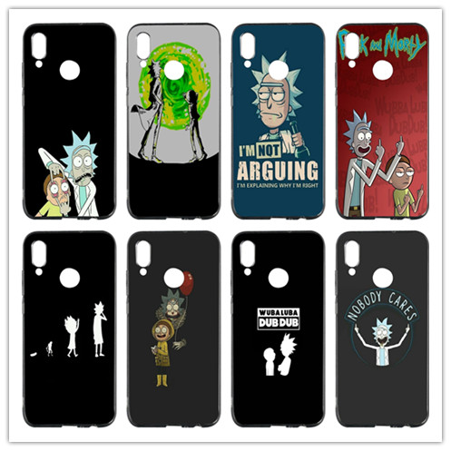 Rick And Morty Pickle Rick Soft Tpu Mobile Phone Case Cover For Huawei P Smart Honor 4c 5c 6a 6x 7x 8x 9 Lite V8 V9 Play V10 To Win Warm Praise From Customers Cellphones & Telecommunications Phone Bags & Cases